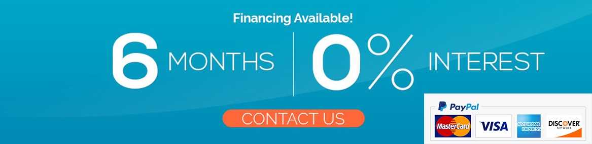Contact Us for Financing